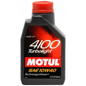 MOTUL 4100 Turbolight 10W-40 1литр