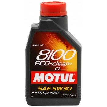 MOTUL 8100 Eco-Clean+ 5W-30 1 литр