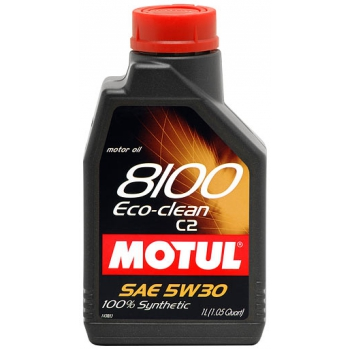 MOTUL 8100 Eco-clean 5W-30 C2 1литр
