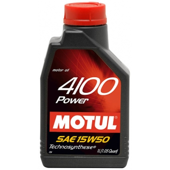 MOTUL 4100 Power 15W-50 1литр